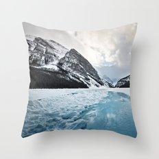 Frozen Louise Throw Pillow