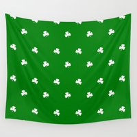 irish Wall Tapestries featuring Irish Spring by McGrathDesigns