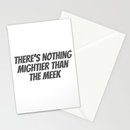 Nothing Mightier Stationery Cards