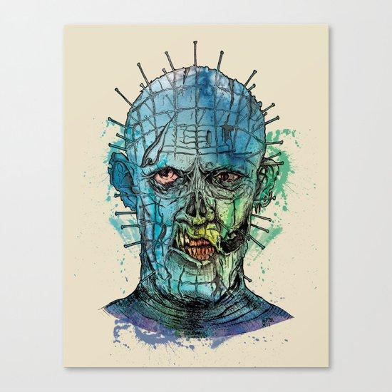 Zombie Raiser Canvas Print
