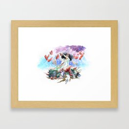 utopia apocalyptic obsessions Framed Art Print