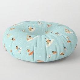Surfing kids Floor Pillow
