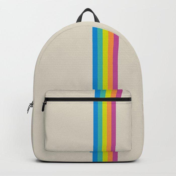 Rainbow - vintage photo Rucksack