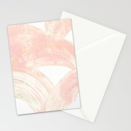 Pink Swipes Stationery Cards