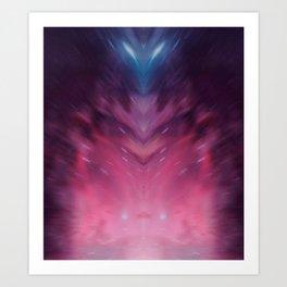 A Higher Being Art Print