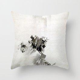 Sesshu Toyo Haboku-Sansui Landscape Throw Pillow