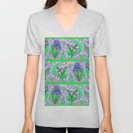 Flower Me Up Unisex V-Neck