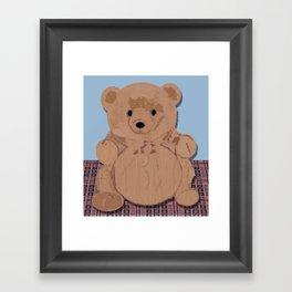 Wes T. Bear Framed Art Print