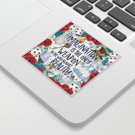 Alice in Wonderland - Imagination Sticker