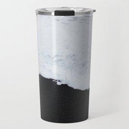 Black beach Travel Mug