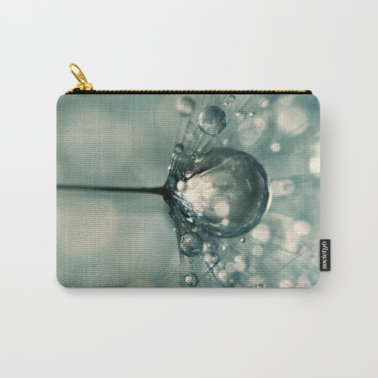 Sea Grey Drop Carry-All Pouch