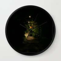 narnia Wall Clocks featuring My Narnia by Jeanette Nilssen