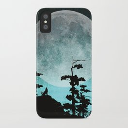 When Night Falls iPhone Case
