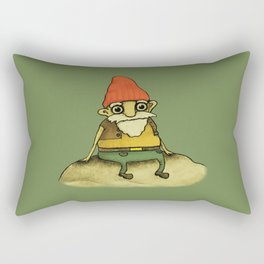 Garden Gnome Rectangular Pillow