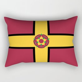Northamptonshire county flag Rectangular Pillow