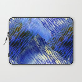 Shibori Surf Waves Laptop Sleeve