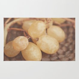 White Muscat Grapes Rug