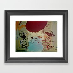 Dream of the lost days Framed Art Print