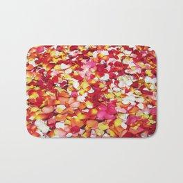 Moroccan Rose Petals Bath Mat