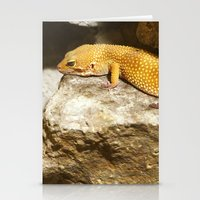 lizard Stationery Cards featuring Lizard by GardenGnomePhotography