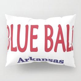 Blue Ball Pillow Sham