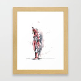 Pagan Costume 1 Framed Art Print