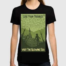 Lose Your Troubles in the Glowing Sea T-shirt