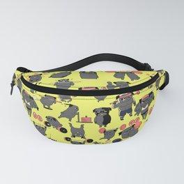 Black Pug Crossfit Fanny Pack