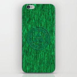 Zelda Green Art Triforce iPhone Skin