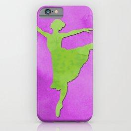 AP123 Watercolor dancer iPhone Case