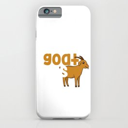 You Goat This Funny Goat Owner Animal Gift iPhone Case