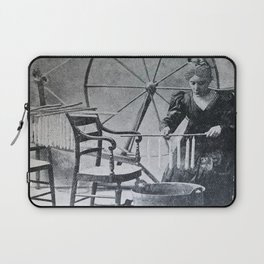 Antique candle making Laptop Sleeve