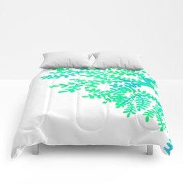 Green Tree. Comforters