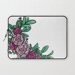 Roses Wreath Laptop Sleeve