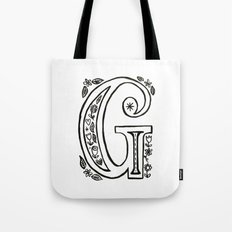g is for Tote Bag