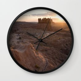 A Utah Sunrise Wall Clock