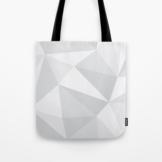 White Deconstruction Tote Bag