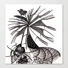 Webtangle Canvas Print
