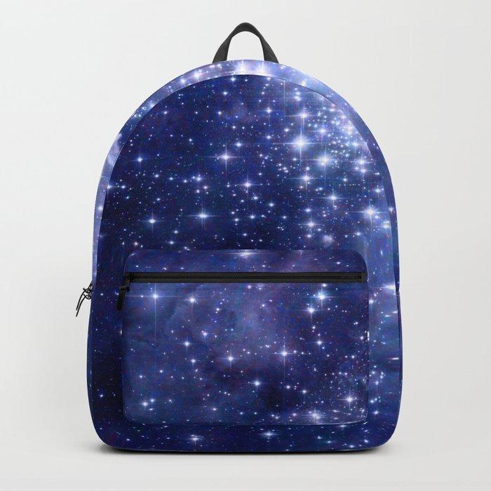 Cobalt Dreams, Universe Stars Space Nebula Backpack