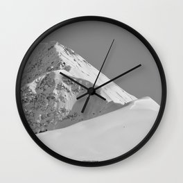 White as Snow Wall Clock