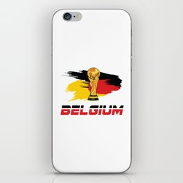 World cup Belgium iPhone Skin