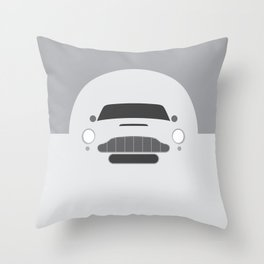 Minimal Aston Martin DB5 Throw Pillow