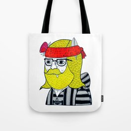 DRUG RUG PORTRAIT #1 Tote Bag