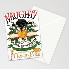 Naughty 2020 Stationery Cards
