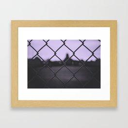 Other Sides Framed Art Print