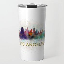Los Angeles City Skyline HQ v4 Travel Mug