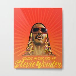 stevie wonder songs tour 2020 muncrat Metal Print