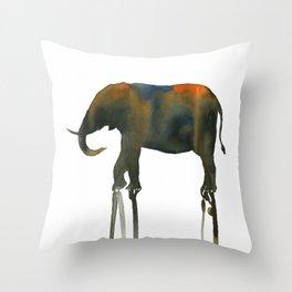 elephant_002 Throw Pillow