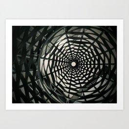 Urban Net Art Print