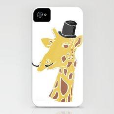 Gentleman Giraffe iPhone (4, 4s) Slim Case